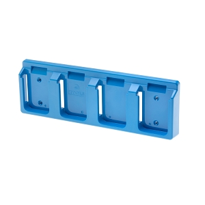 48 Tools BH-MAK-BLU-04 Light Blue Battery Holder for Makita 18V Batteries