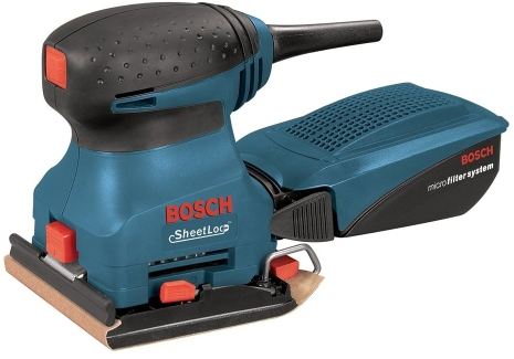 Bosch 1297DK 1/4-Sheet Orbital Finish Sander Kit