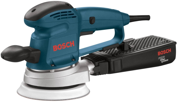 Bosch 3727DEVS 6 In. Electronic Variable Speed Random Orbit Sander/Polisher