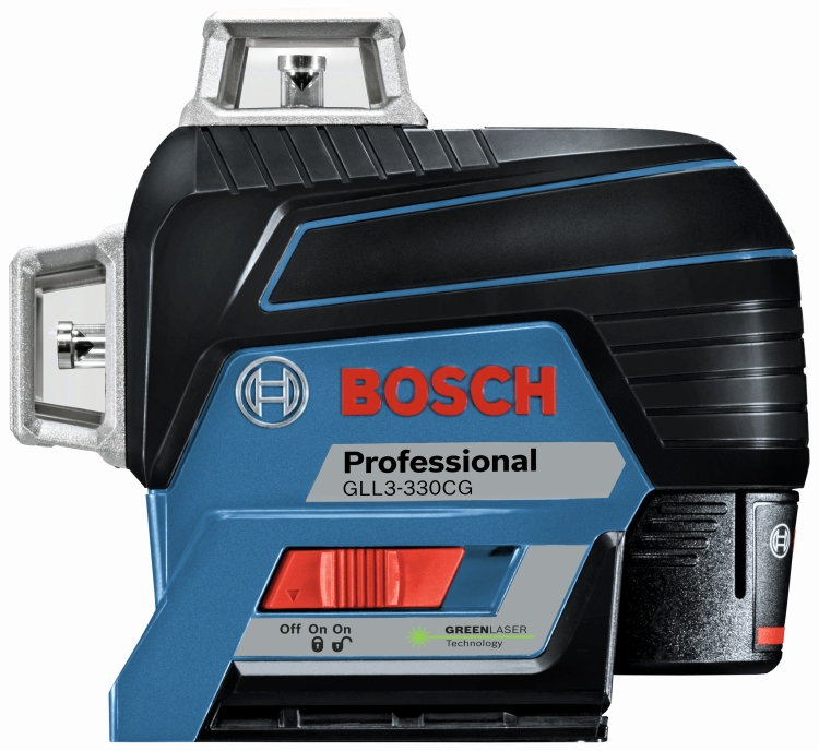 Bosch GLL3-330CG 360 Deg Connected Green-Beam Three-Plane Leveling and Alignment-Line Laser
