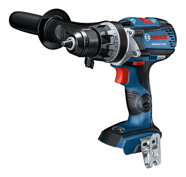 Bosch GSR18V-755CN 18V EC Brushless Connected-Ready Brute Tough 1/2 In. Drill/Driver (Bare Tool)