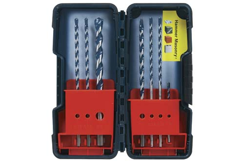 Bosch HCBG700T Set 7Pc Blue Granite Turbo Hammer Drill Bit