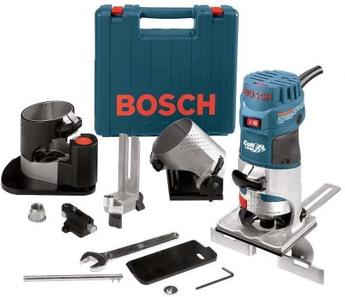 Bosch PR20EVSNK 1 HP Colt Variable Speed Electronic Palm Router Installer's Kit