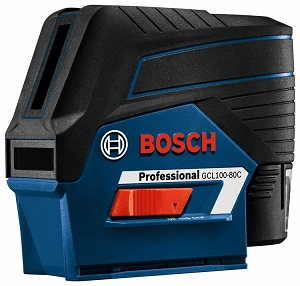 Bosch GCL100-80C 12V Max Connected Cross-Line Laser with Plumb Points