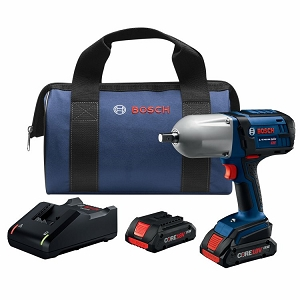 Bosch HTH181-B25 18V High-Torque Impact Wrench Kit with Pin Detent
