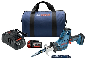 Bosch GSA18V-083B11 18V Compact Reciprocating Saw Kit