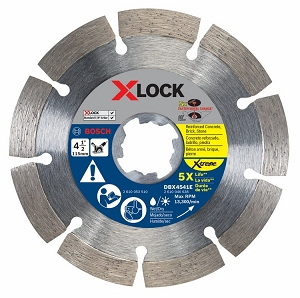 Bosch DBX4541E 4-1/2 In. X-LOCK Xtreme Segmented Diamond Blade