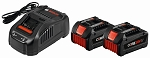 Bosch GXS18V-02N24 18V CORE18V Starter Kit with (2) CORE18V Batteries