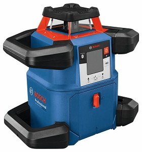 Bosch GRL4000-80CH 18V REVOLVE4000 Connected Self-Leveling Horizontal Rotary Laser with (1) CORE18V 4.0 Ah Compact Battery