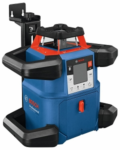 Bosch GRL4000-80CHVK 18V REVOLVE4000 Connected Self-Leveling Horizontal/Vertical Rotary Laser Kit with (1) CORE18V 4.0 Compact Battery