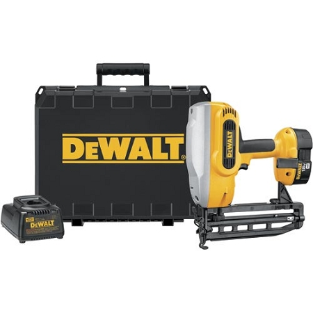 Dewalt DC616K 18V Cordless XRP 1-1/4 - 2-1/2 16 Gauge Straight Finish Nailer Kit