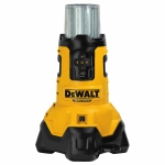 Dewalt DCL070T1 20V MAX* Corded/Cordless Bluetooth LED Large Area Light with Built-in Battery Charger Kit