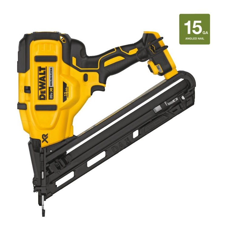 Dewalt DCN650B 20V MAX XR 15 GA Cordless Angled Finish Nailer (Tool Only)