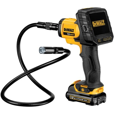 Dewalt DCT410S1 12V MAX* 17mm Inspection Camera with Wireless Screen Kit