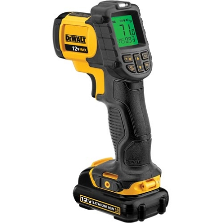 Dewalt DCT414S1 12V MAX Infrared Thermometer Kit