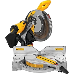 Dewalt DWS716 15 Amp 12 in. Electric Double-Bevel Compound Miter Saw