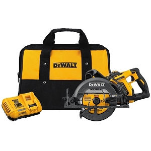 Dewalt DCS577X1 FLEXVOLT® 60V MAX* 7-1/4 IN. Cordless Worm Drive Style Saw Kit