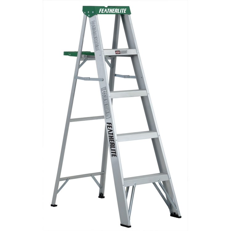 Featherlite Ladders 2405 5' Aluminum Step Type 2
