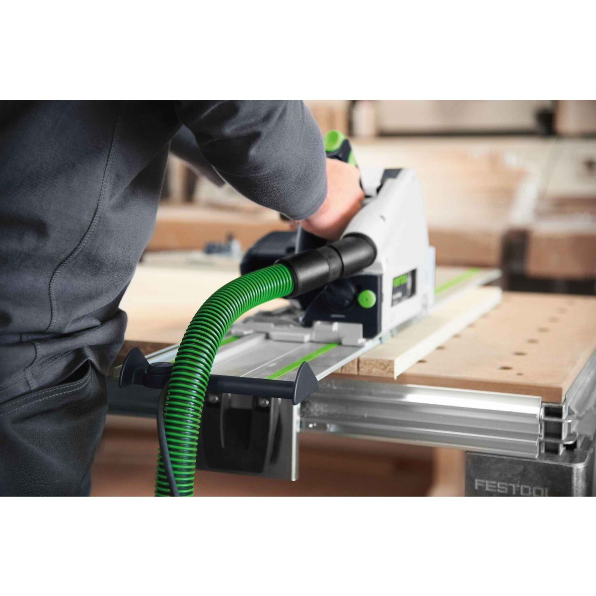 Festool 575388 Plunge Cut Track Saw TS 55 REQ-F-Plus-FS USA