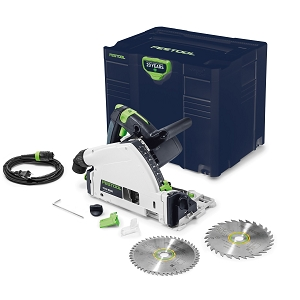 Festool 576689 Plunge Cut Track Saw TS 55 REQ-F-Plus USA Emerald Edition