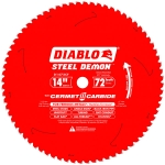 Diablo D1472CF 14 in. x 72 Tooth Steel Demon Metal Cutting Saw Blade