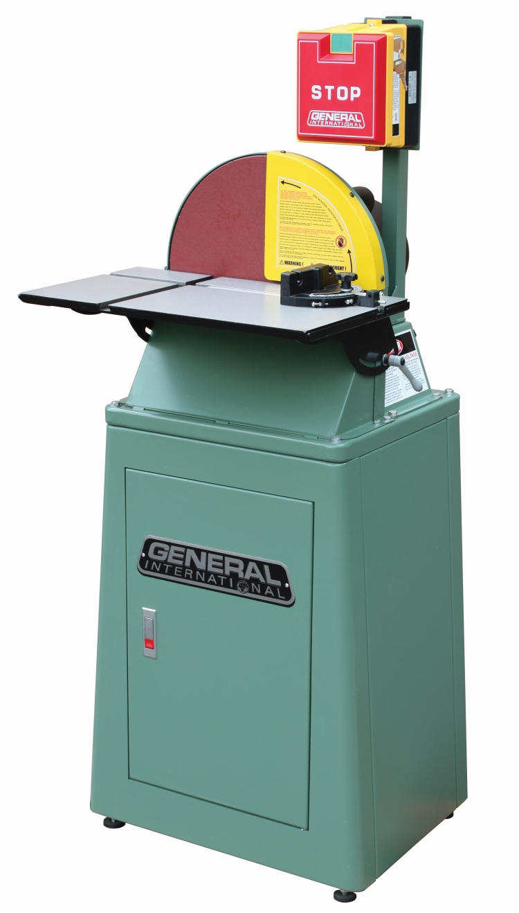 General International 15-205M1 15 in. Disc Sander