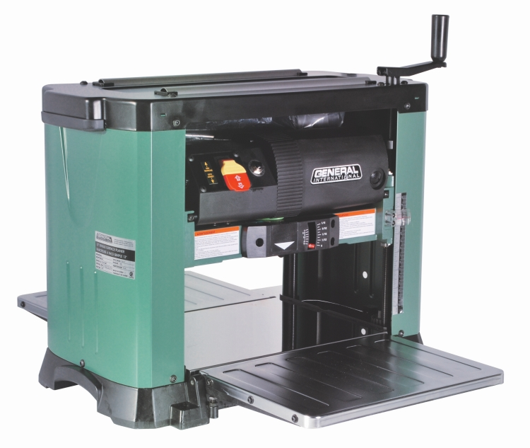 General International 30-005HCM1 13 in. Portable Planer with Helical Cutterhead