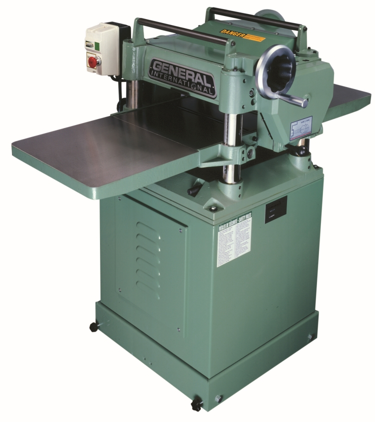 General International 30-125HCM1 15 in. Planer 3 HP with Helical Cutterhead