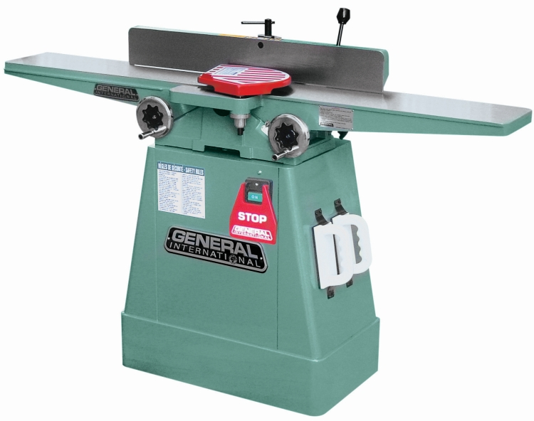 General International 80-100LHCM1 6 in. Jointer with Helical Head