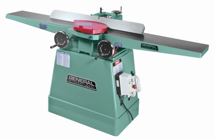 General International 80-200LHCM1 8 in. Jointer with Helical Head