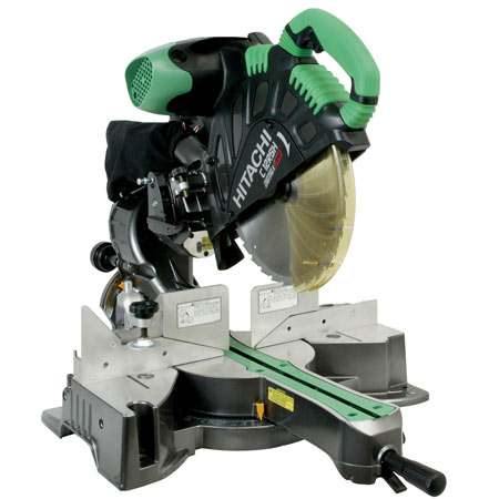 Hitachi C12RSH2 12 Sliding Dual Compound Laser Mitre Saw