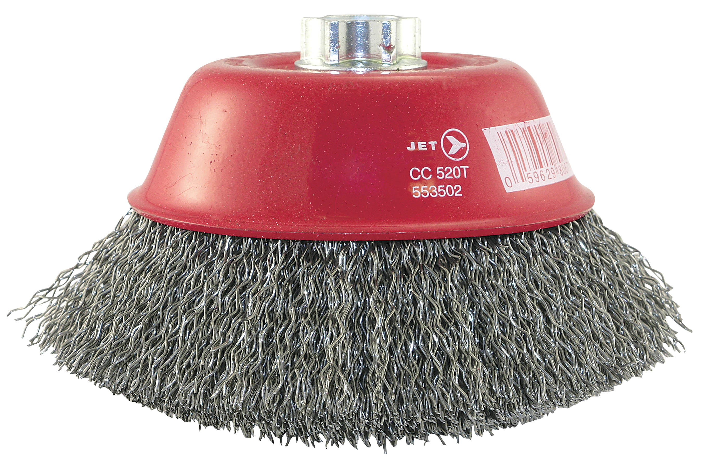 Jet 553502 5 X 5 8 11 Nc Crimped Wire Cup Brush