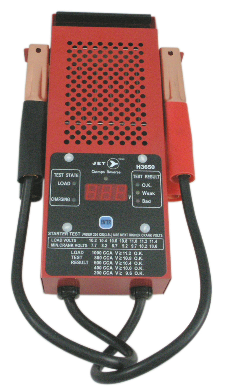 Digital Battery Analyzer : Jet h digital battery load tester charging system