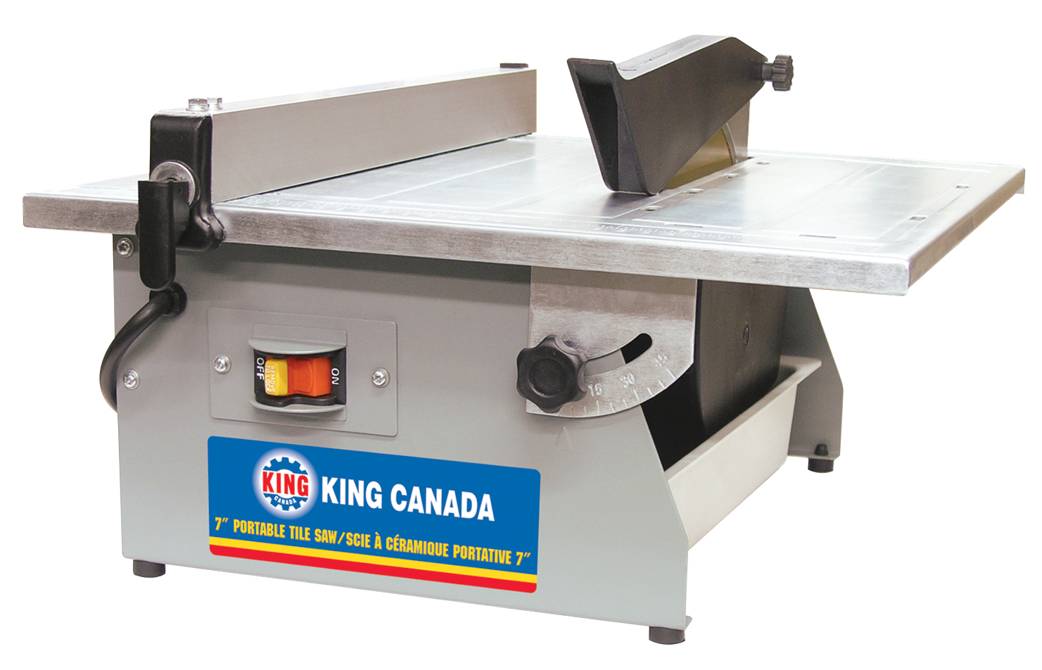 King Canada KC-3003N Saw, Wet 7, Portable Tile