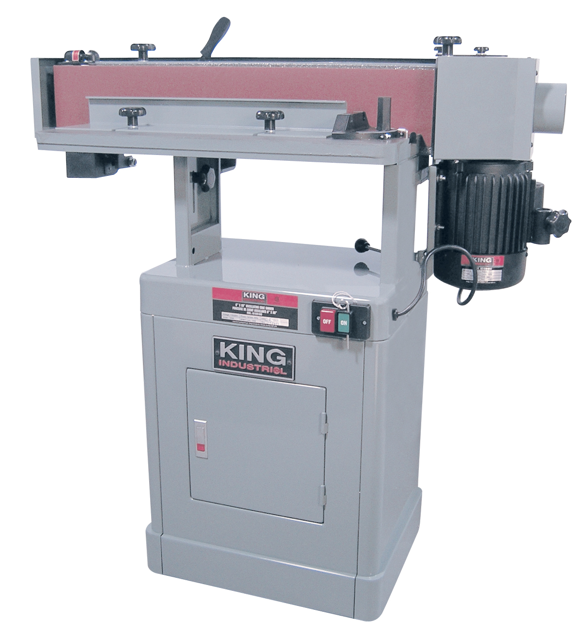 King Industrial KC-689-OSC-7 Sander, Edge, Oscillating 6 x 89