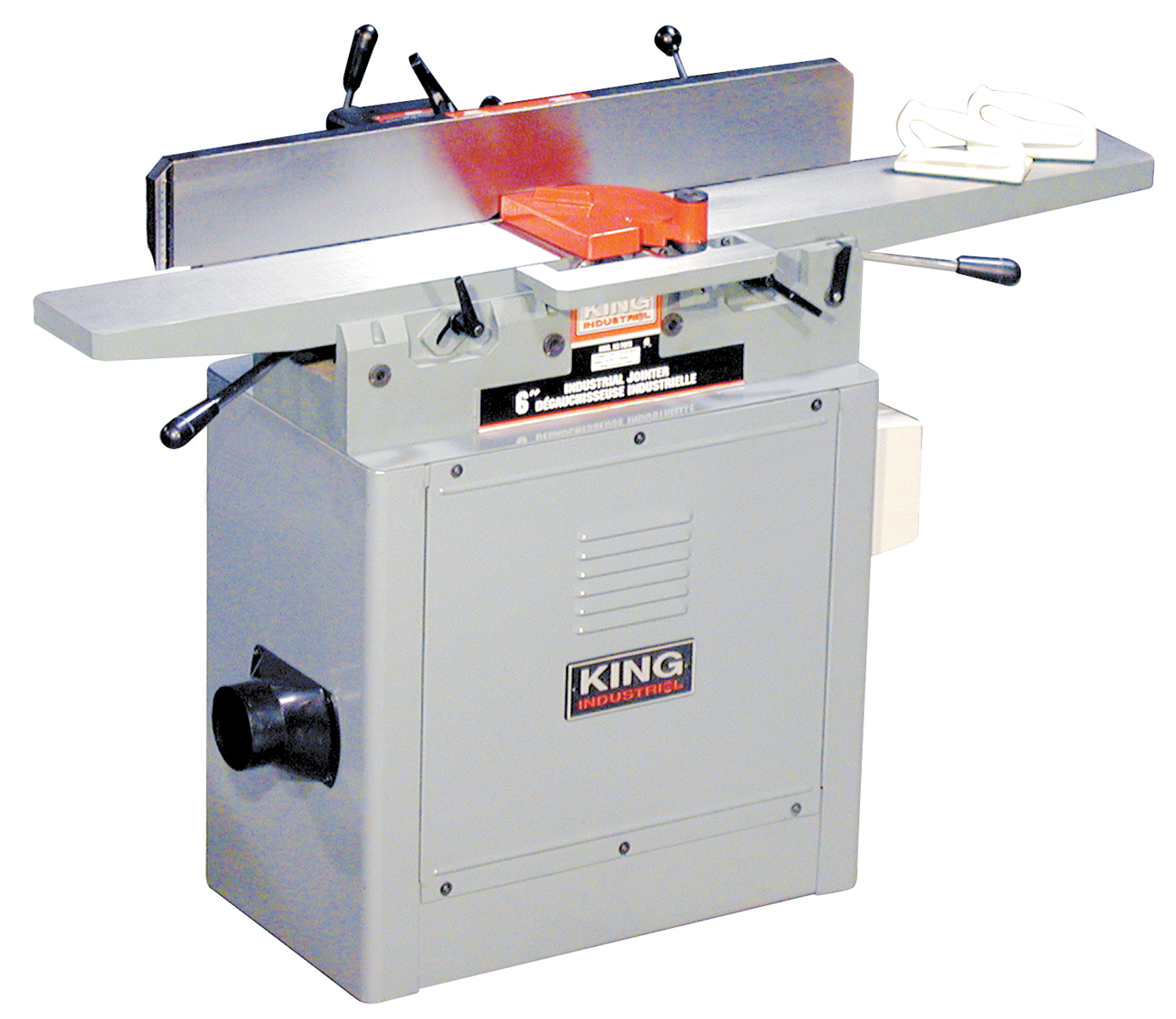 King Industrial KC-70FX Jointer, 6 15amp, 110V