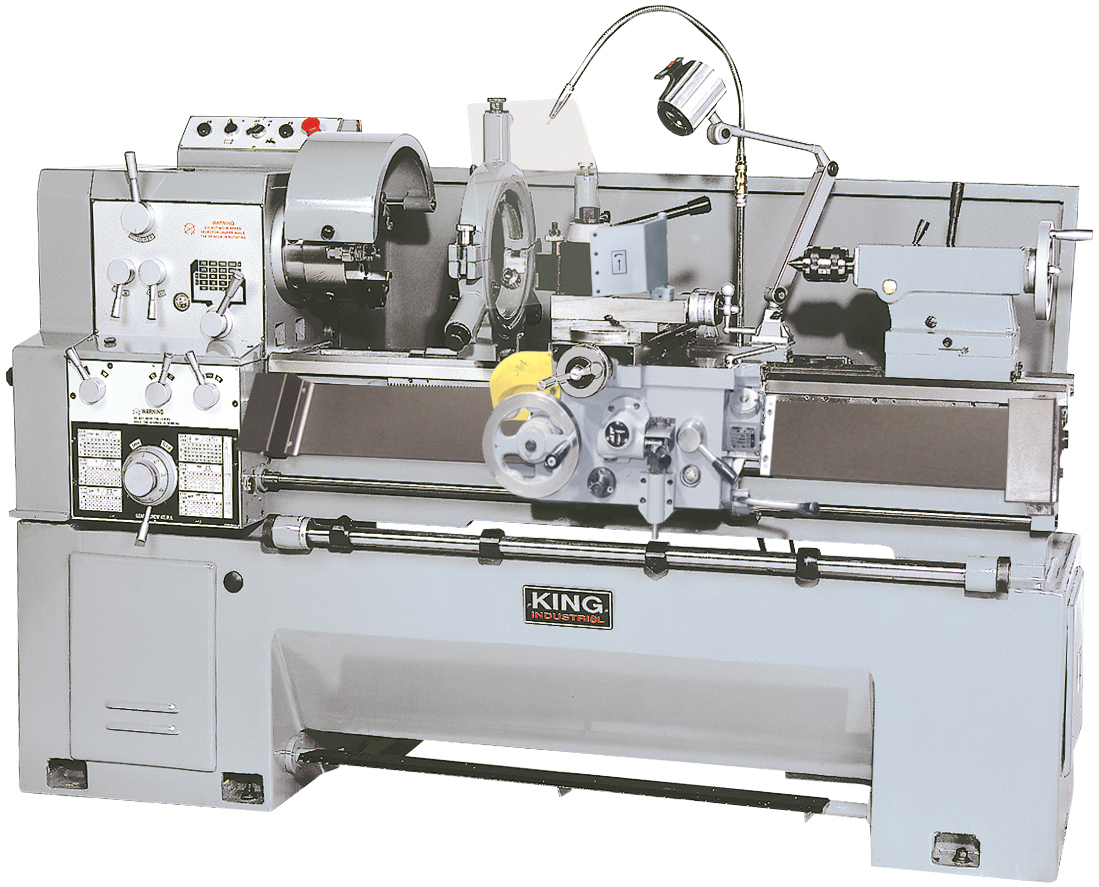 King Industrial KC-1660GH Lathe, Metal 16 in. x 60 in. Gear Drive, 7.5 HP, 600V 3PH