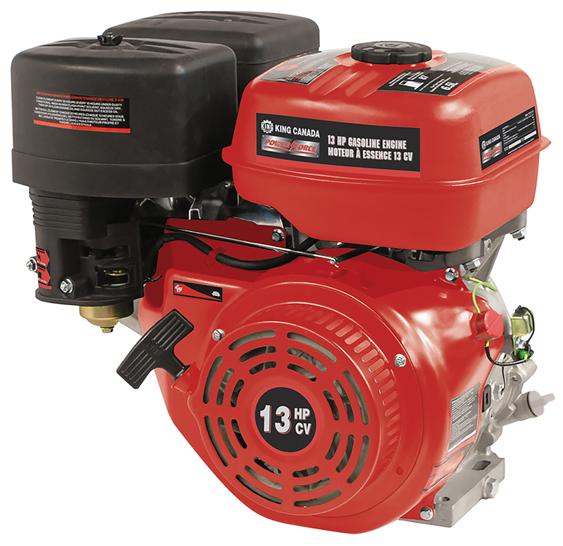 Power Force KCG-130 Engine, Gasoline, 13 HP, 4-stroke