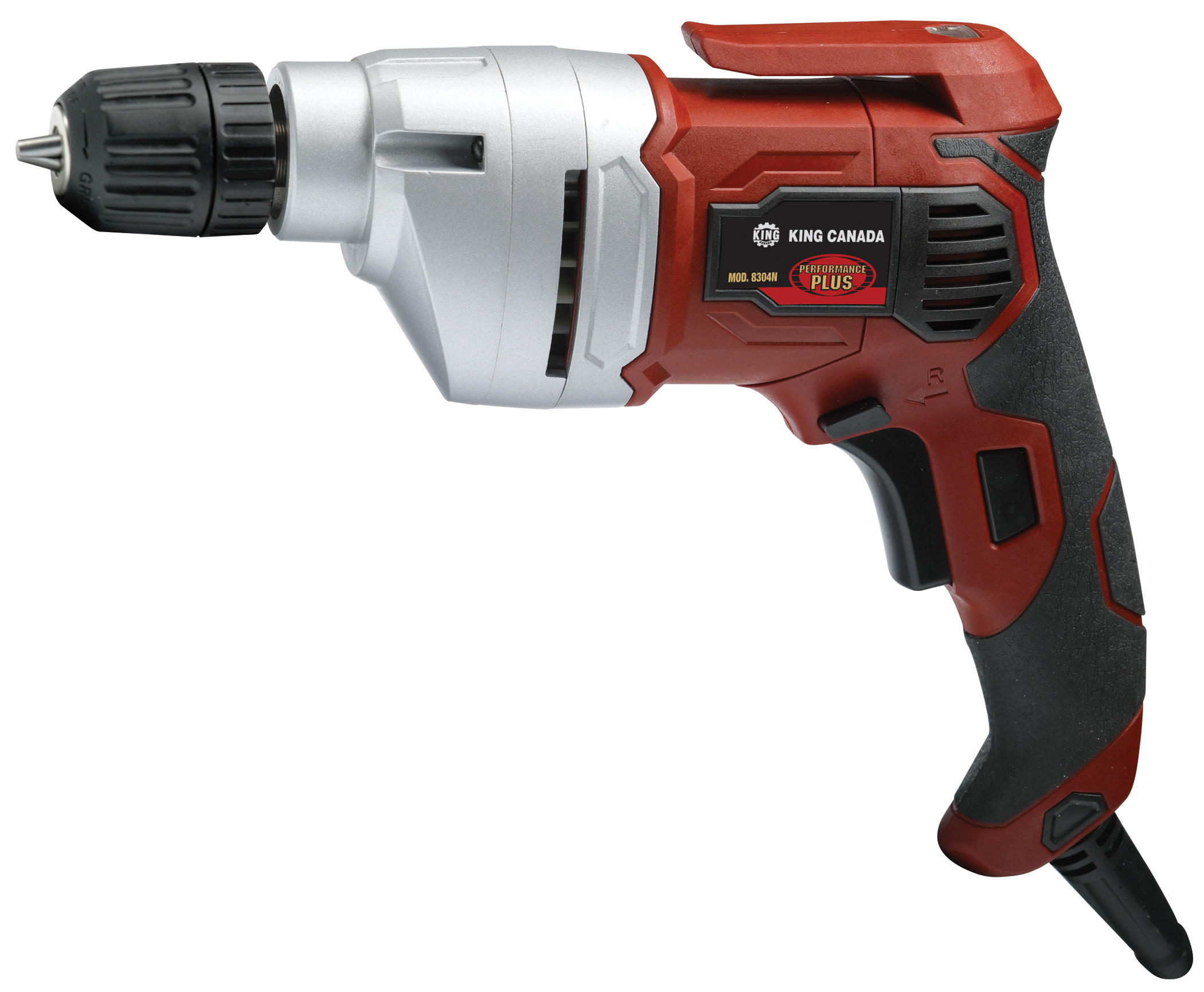 Performance Plus 8304N Electric Drill, 3/8, keyless chuck