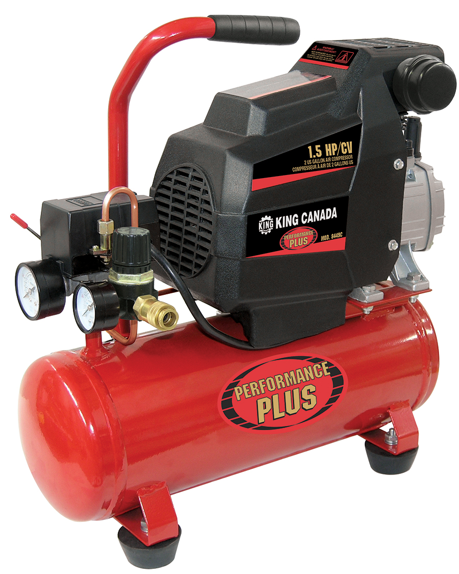 Performance Plus 8449C Air Compressor, 1.5 HP