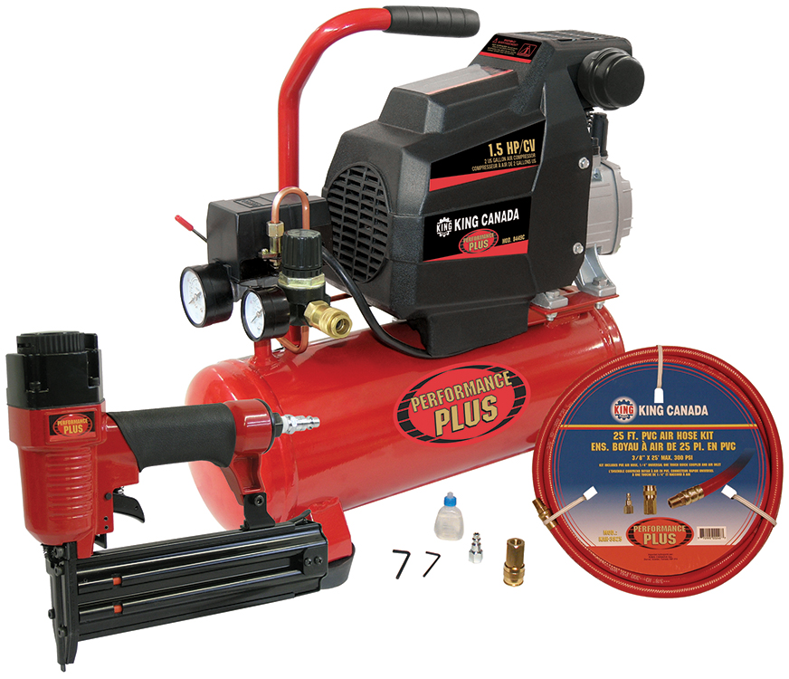 Performance Plus 8449C/8200NH25 Air Compressor Combo Kit