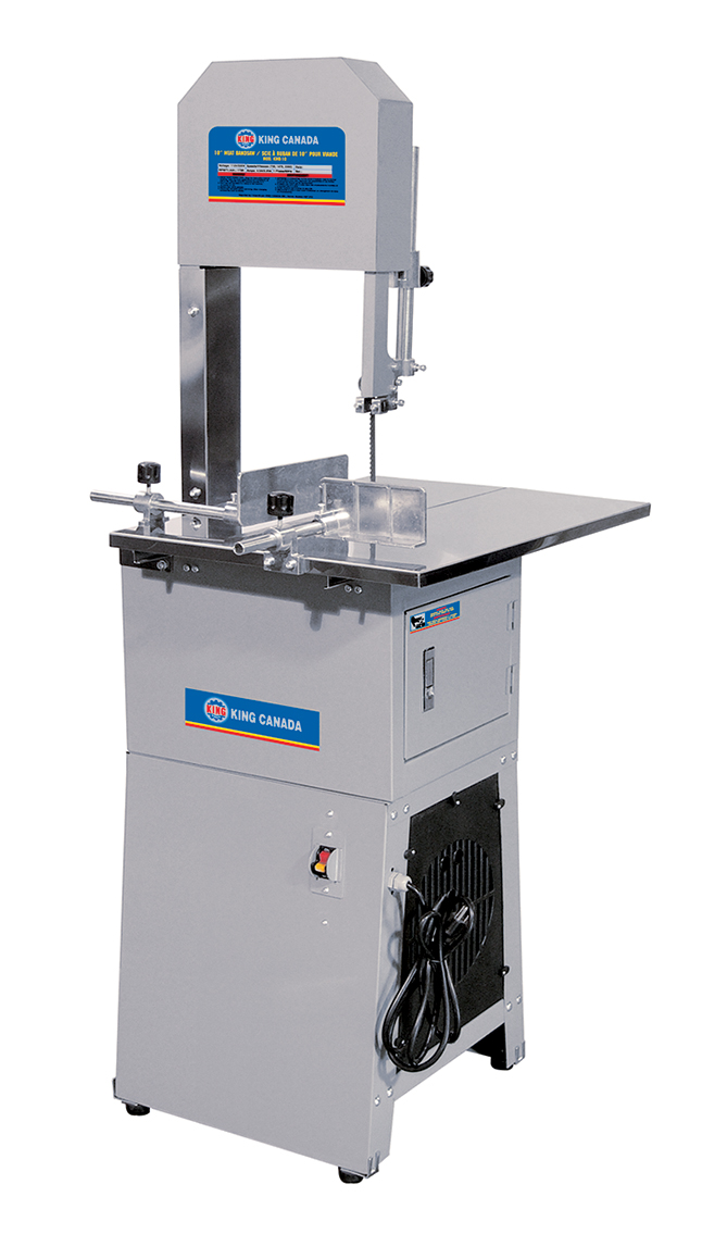 King Canada KC-10MB Bandsaw, Meat, 10