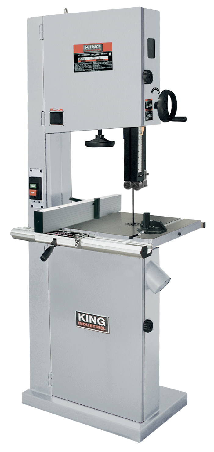 King Industrial KC-1702FXB Bandsaw, 17 Floor, Resaw Guide, w/ind. fence