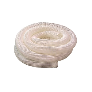 King Canada 4 in. Clear, Flexible, Collapsible, PVC Dust Hose