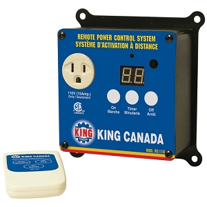 King Canada RC-110 Remote Power Control System, 110V