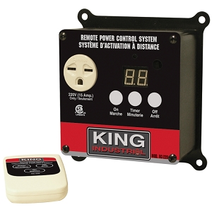 King Canada RC-220 Remote Power Control System, 220V