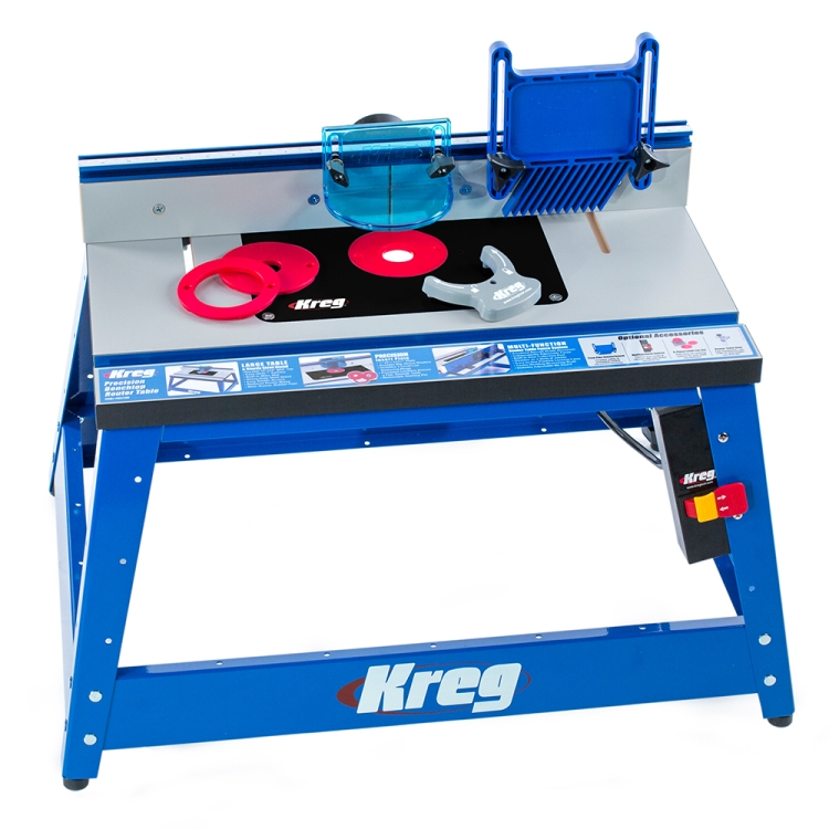 Kreg prs2100 precision benchtop router table - Kreg router table accessories ...