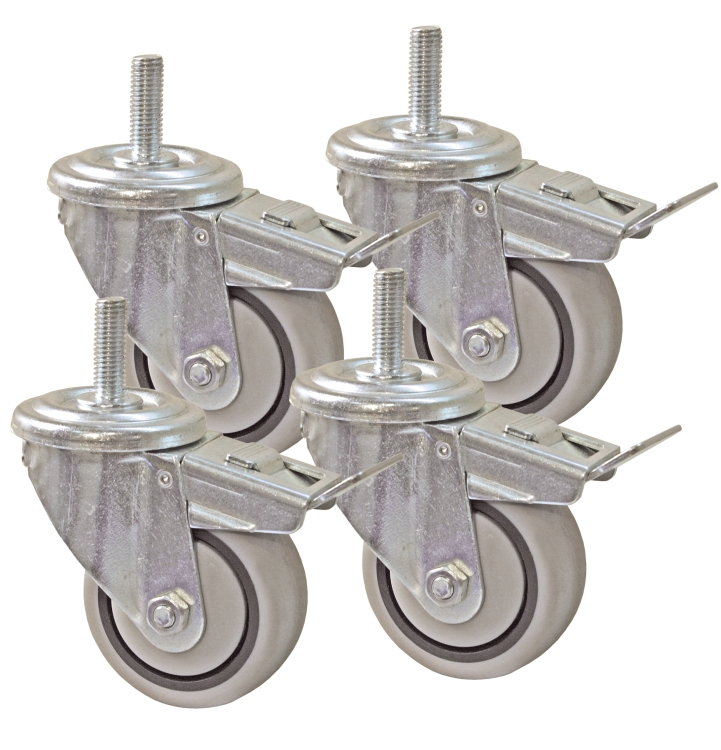 Kreg PRS3090 3 Dual Locking Caster Set (Set of 4)