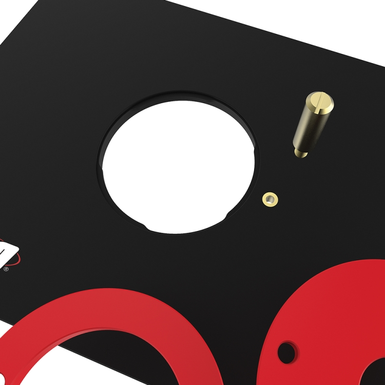 Kreg prs4036 precision router table insert plate w level loc rings kreg prs4036 precision router table insert plate w level loc rings predrilled for bosch portor cable greentooth Image collections