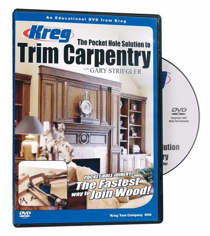 Kreg V07-DVD DVD - Pocket Hole Solution to TRIM CARPENTRY